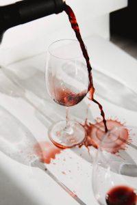 glas rode wijn gezond