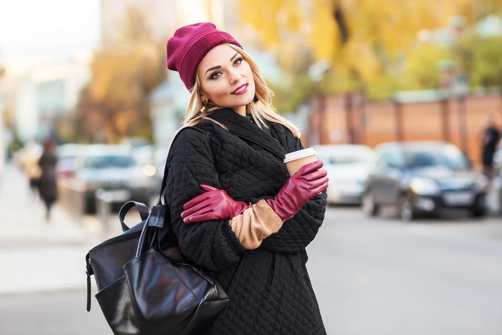 leren handschoenen voor dames